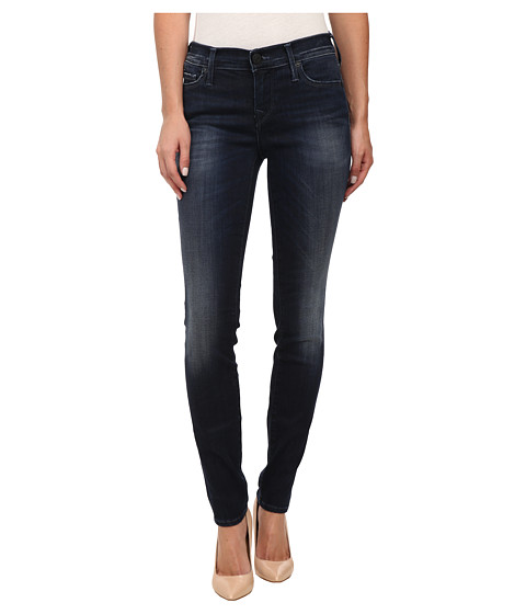 True Religion - Abbey High Rise Super Skinny Jeans in Basic Dark (Basic Dark) Women