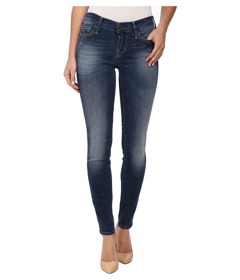 True Religion - Abbey High Rise Super Skinny Jeans in Medium Blue (Medium Blue) Women