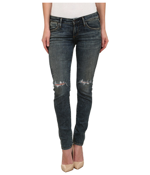 True Religion - Cora Mid Rise Straight Jeans in New Blinston Blue (New Blinston Blue) Women's Jeans