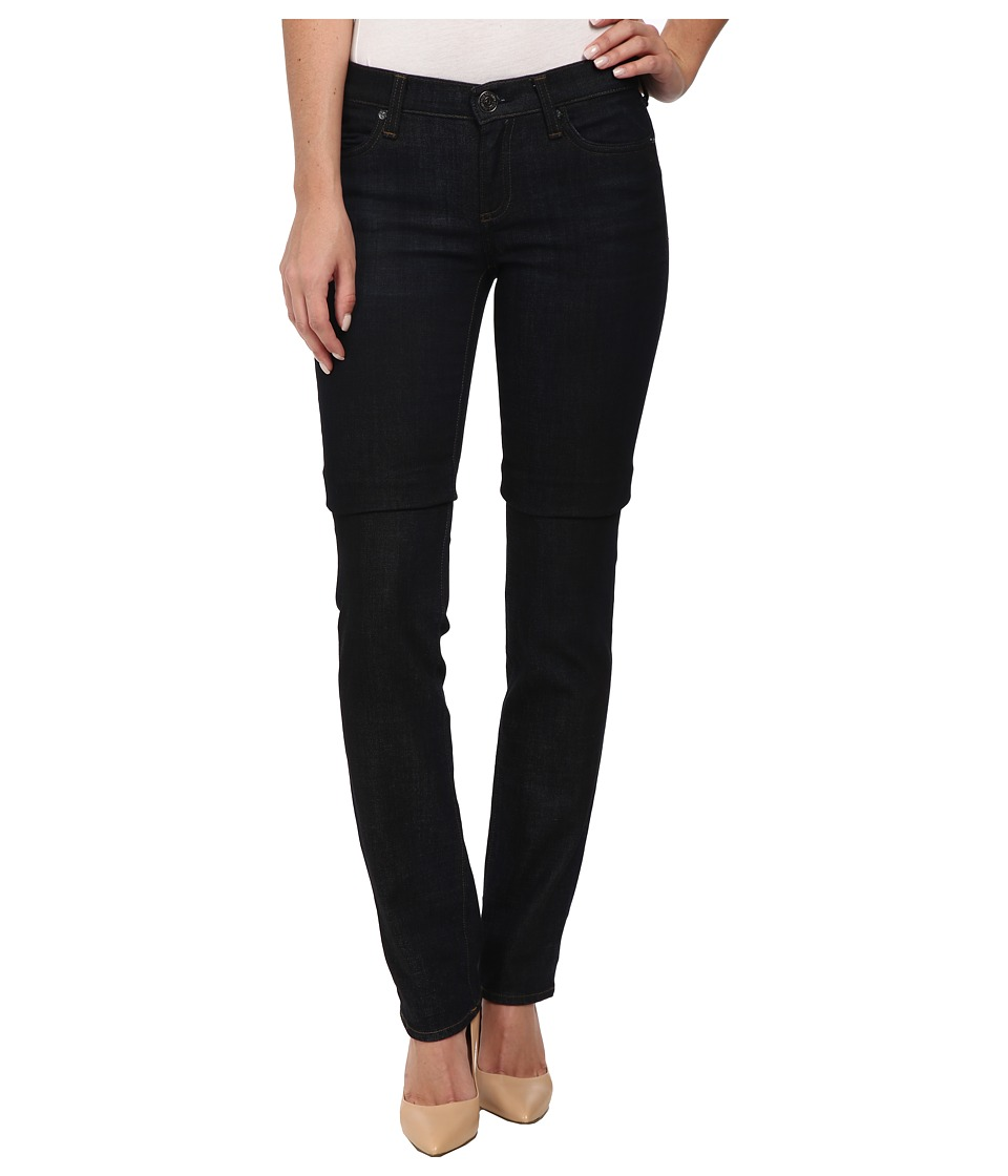 True Religion - Cora Mid Rise Straight Jeans in Ghost Wash (Ghost Wash) Women
