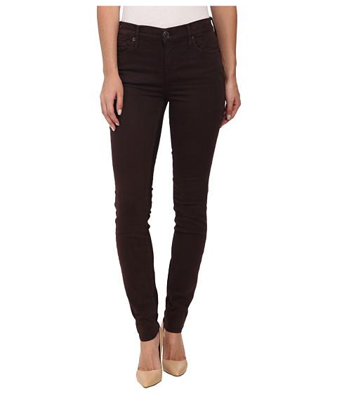 True Religion - Abbey High Rise Super Skinny Jeans in Bordeaux (Bordeaux) Women