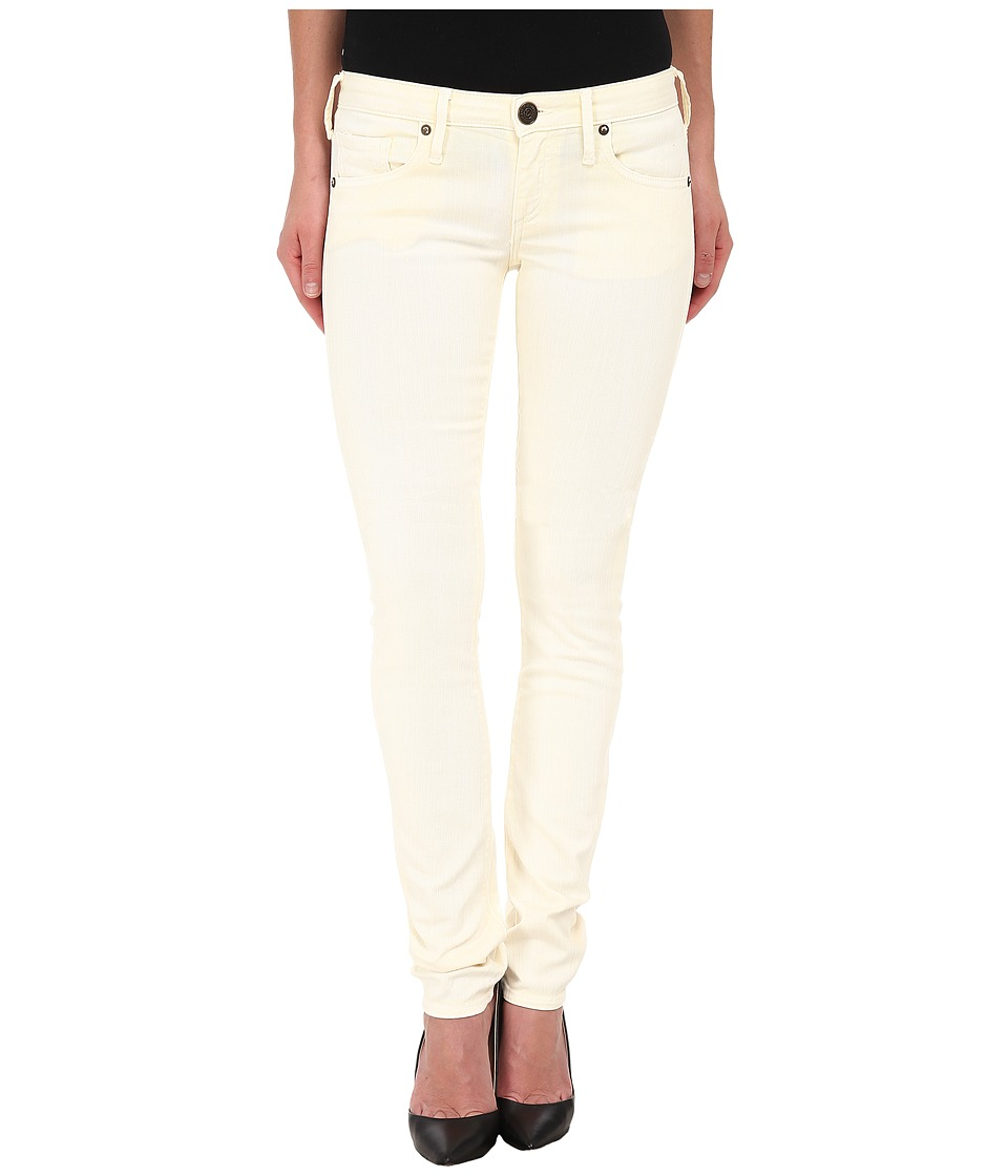 True Religion - Jude Skinny Jeans in Pale Yellow (Pale Yellow) Women