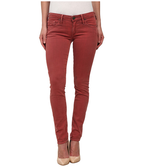 True Religion - Jude Skinny Jeans in Rusty Red (Rusty Red) Women's Jeans
