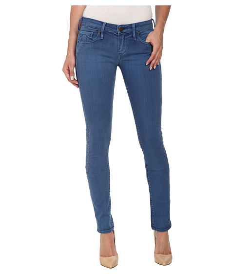 True Religion - Jude Skinny Jeans in Blue (Blue) Women
