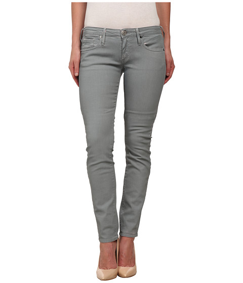 True Religion - Jude Skinny Jeans in Grey (Grey) Women's Jeans