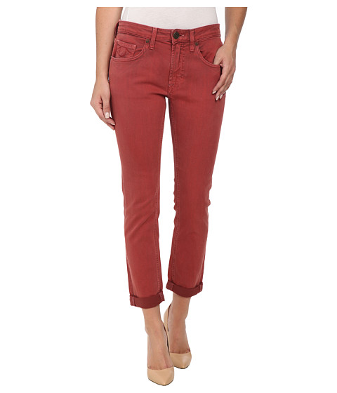 True Religion - Grace New Boyfriend Jeans in Rusty Red (Rusty Red) Women