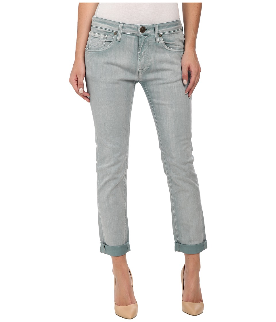True Religion - Grace New Boyfriend Jeans in Acquamarine (Acquamarine) Women