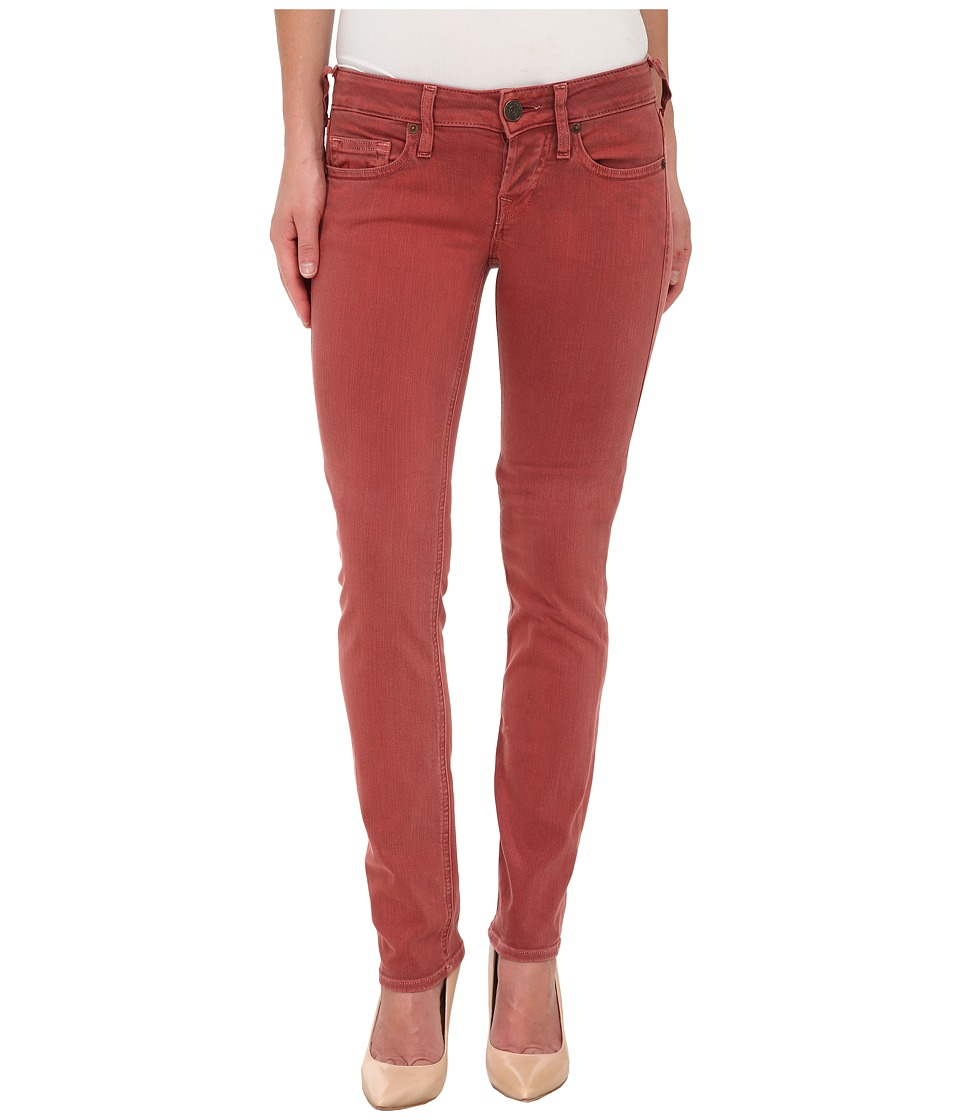 True Religion - Kayla Regular Jeans in Rusty Red (Rusty Red) Women