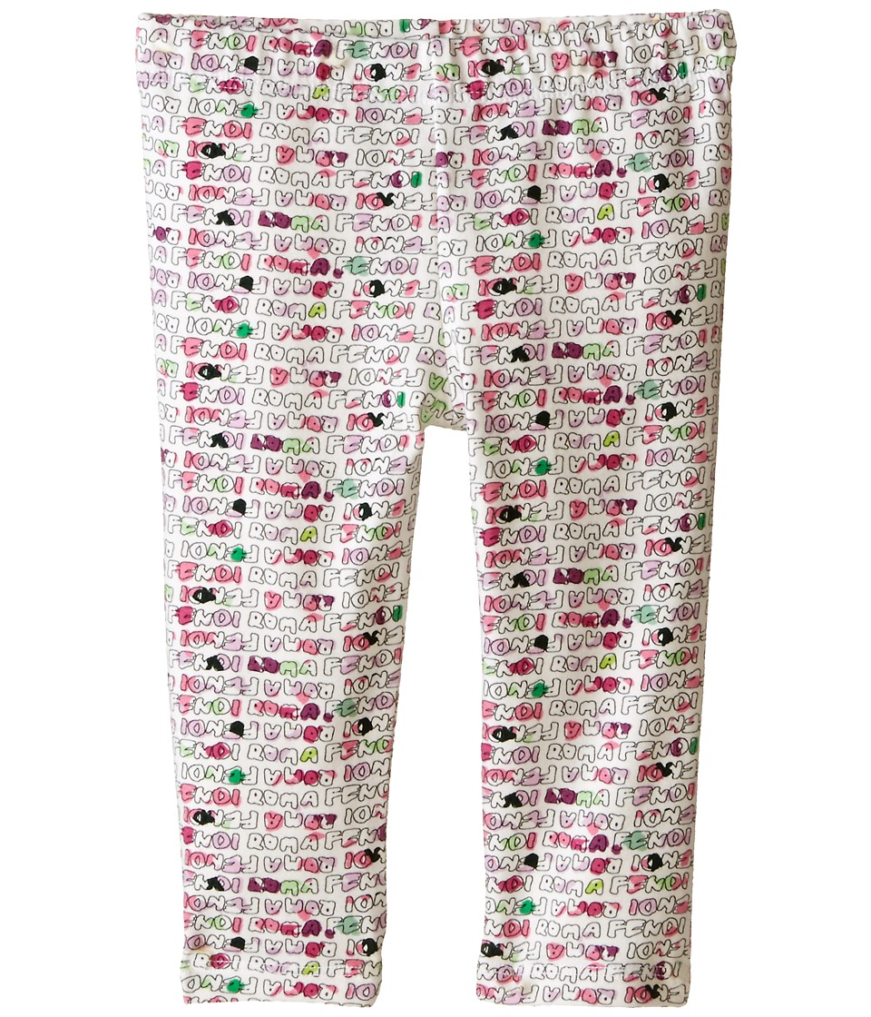 Fendi Kids - Printed Leggings (Infant) (Multi) Girl's Casual Pants