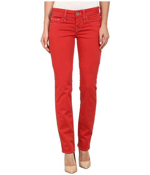 True Religion - Kayla Regular Jeans in Shiny Red (Shiny Red) Women's Jeans
