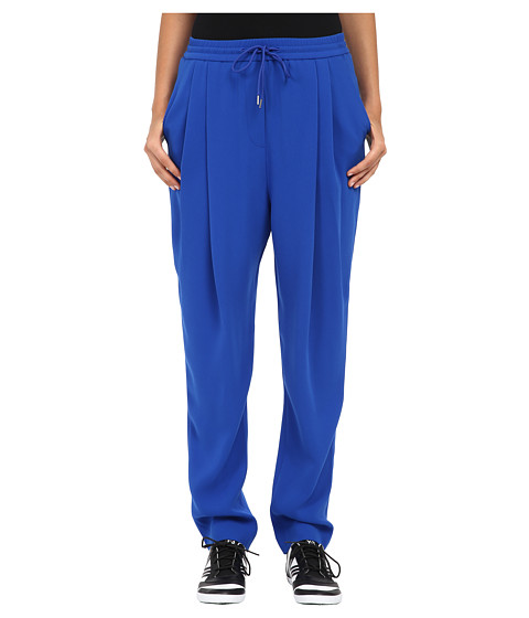 McQ - Pleat Front Pants (Klein Blue Crepe) Women
