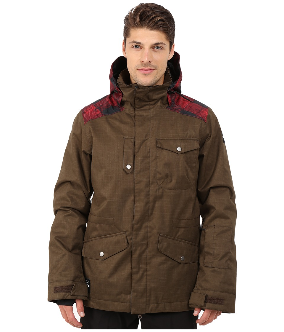Dakine - Intruder Snow Jacket (Coffee) Men's Coat