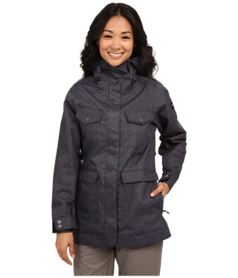 Dakine - Canyons Snow Jacket (Denim) Women