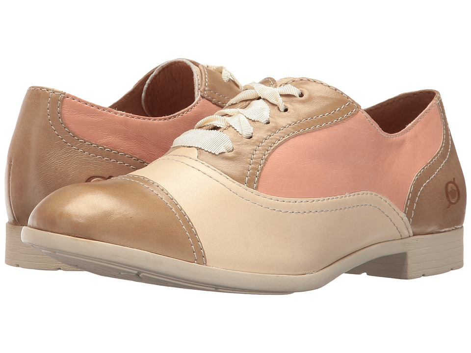 Born - Netties (Taffy/Cream/Salmon) Women's Lace up casual Shoes