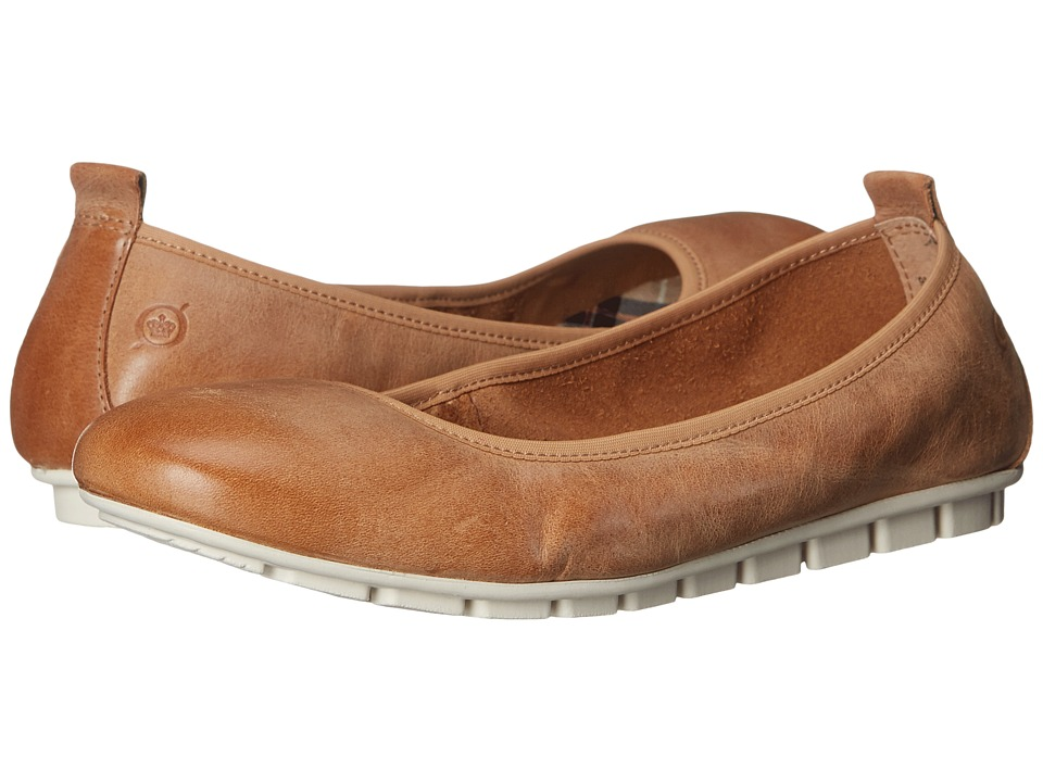 Born - Tami (Cuoio Waxed Suede) Women's Slip on Shoes