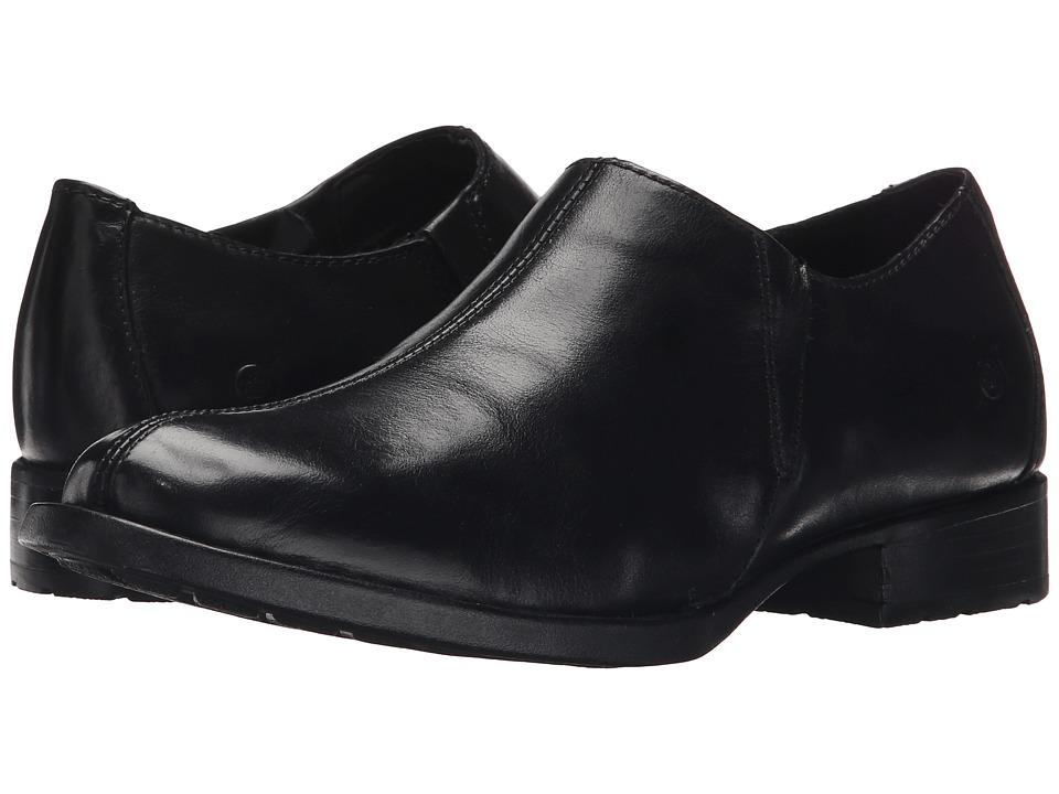 Born - Raia (Black Full Grain Leather) Women's Shoes