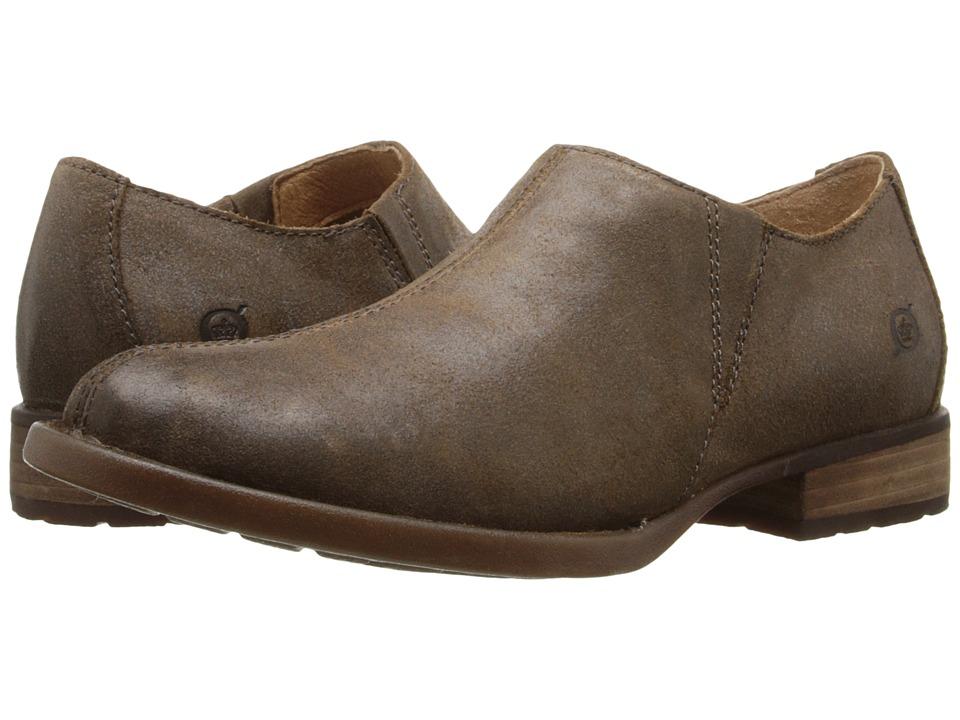 Born - Raia (Crusca Waxed Suede) Women's Shoes