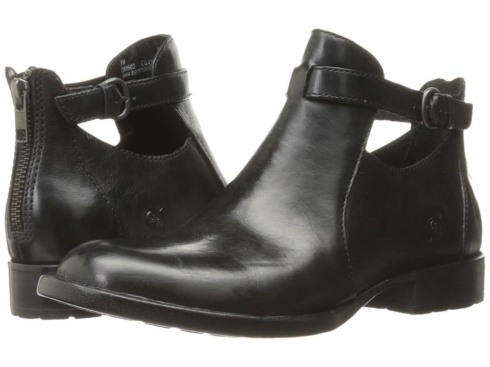 Born - Posh (Black Full Grain Leather) Women's Shoes