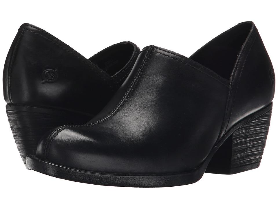 Born - Wellins (Black Full Grain Leather) Women's Shoes