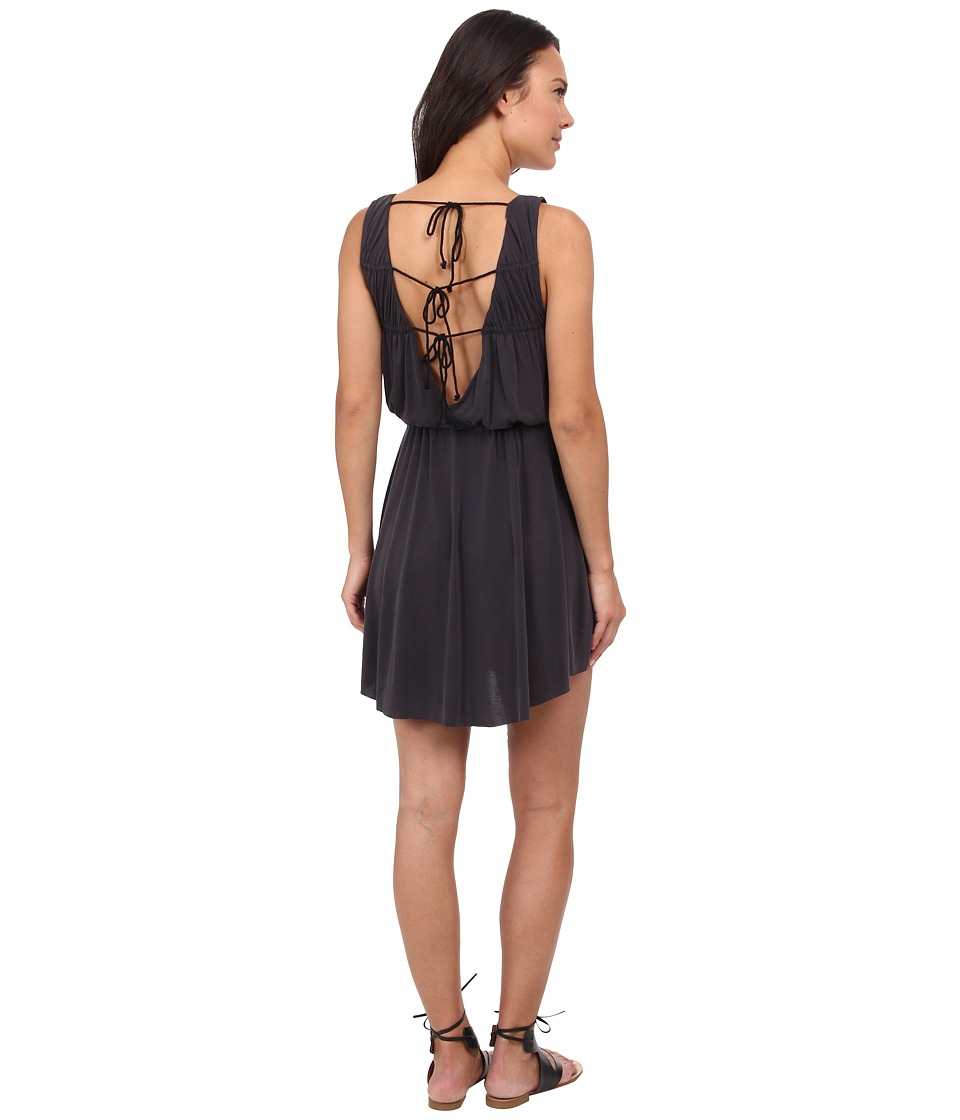 Free People - True As Love Dress (Black) Women's Dress
