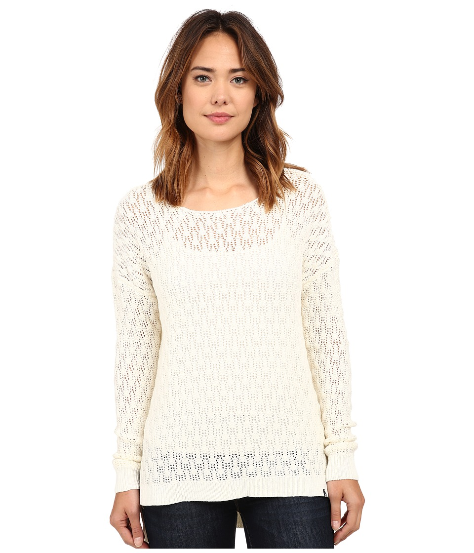 Volcom - For Love Sweater (Bone) Women's Long Sleeve Pullover