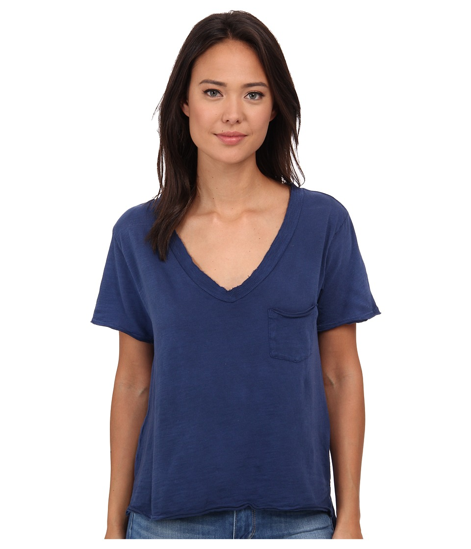 Free People - 757 Tee (Navy) Women's T Shirt