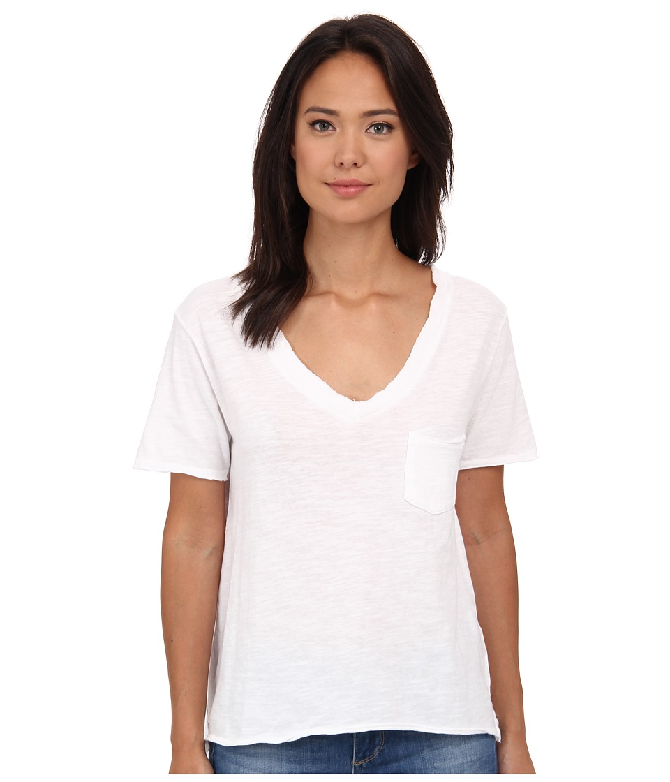 Free People - 757 Tee (White) Women's T Shirt