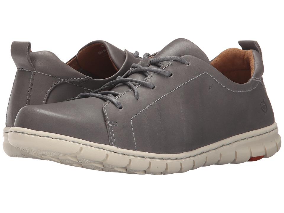 Born - Kester (Grey Full Grain Leather) Women