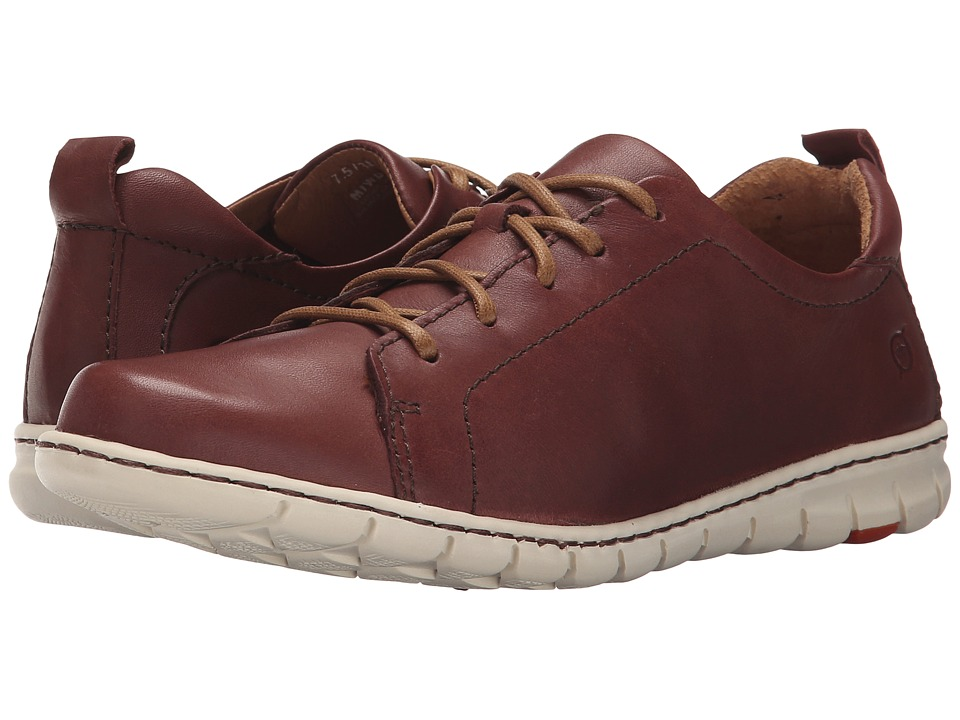 Born - Kester (Brown Full Grain Leather) Women's Lace up casual Shoes
