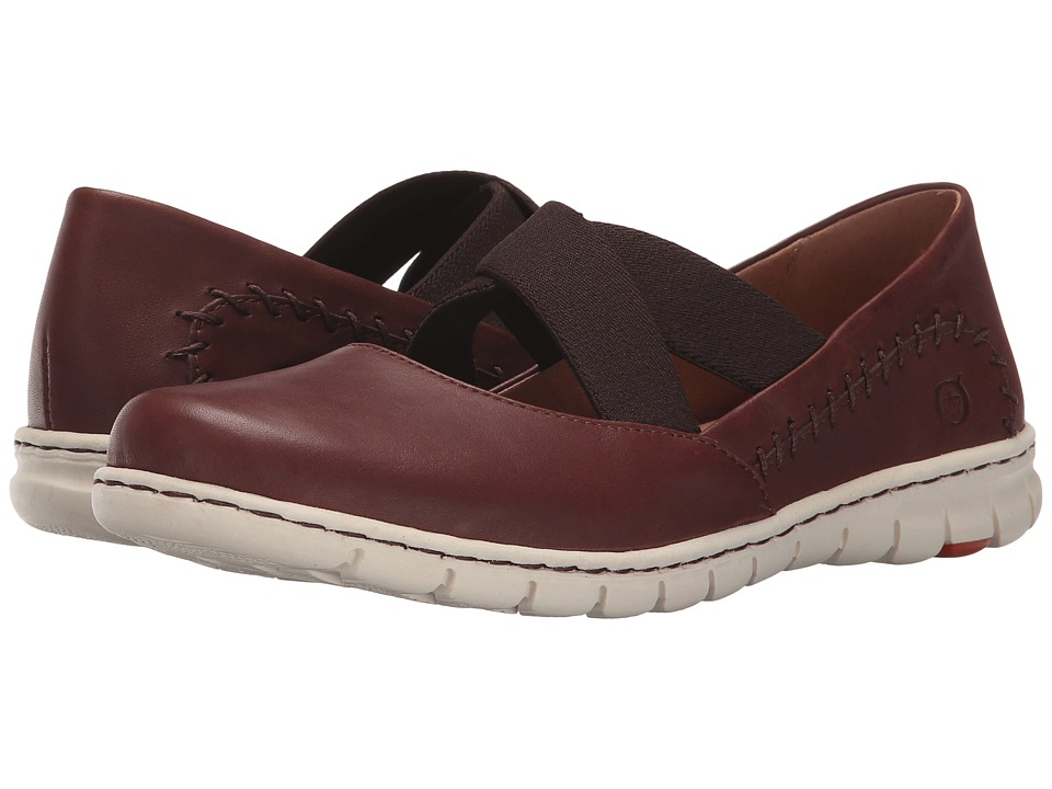 Born Larney (Brown Full Grain Leather) Women