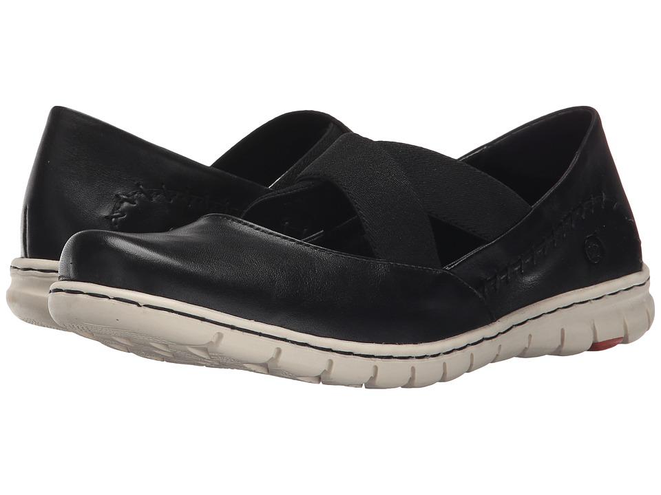 Born - Larney (Black Full Grain Leather) Women's Shoes