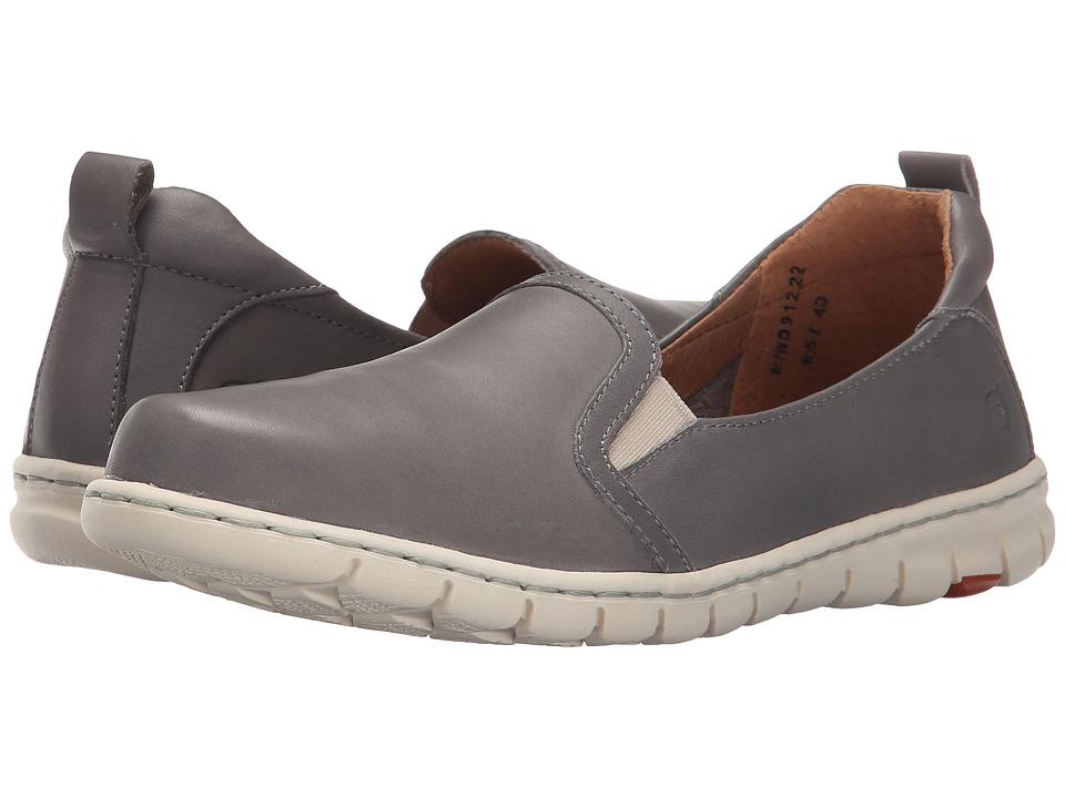 Born - Meyer (Grey Full Grain Leather) Women