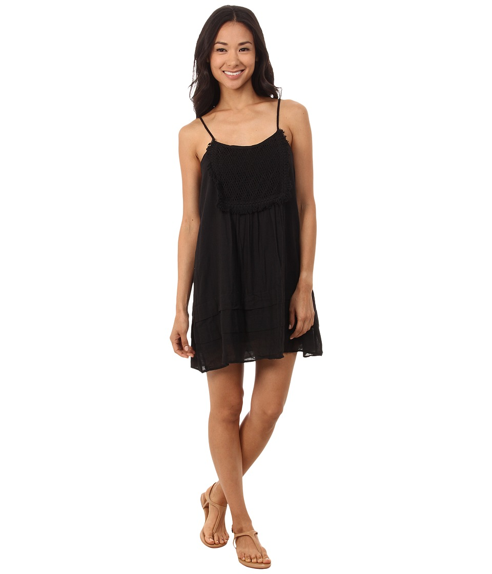 Volcom - Lost Highway Dress (Black) Women's Dress