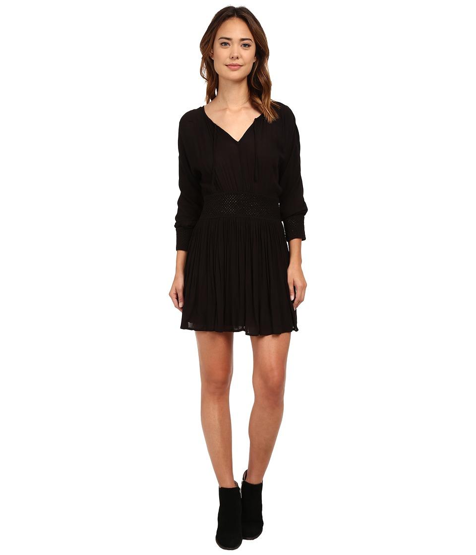 Volcom - Peaceful Buddhi Dress (Black) Women's Dress