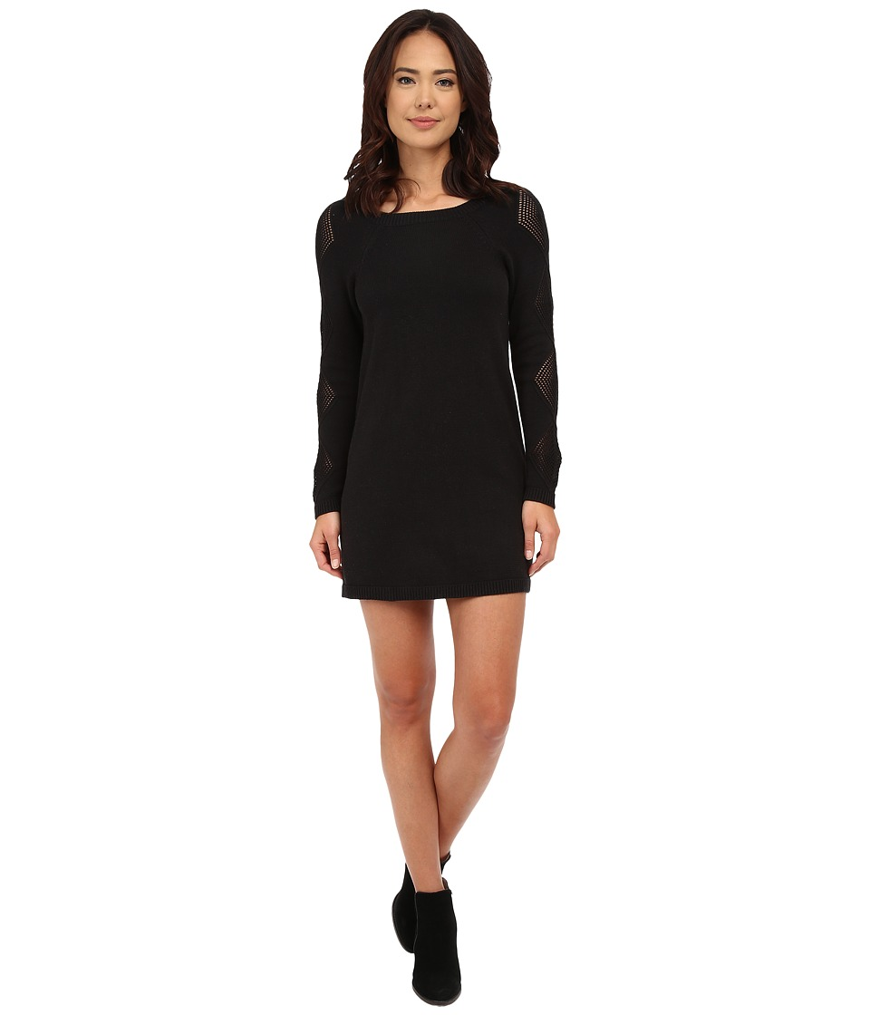 Volcom - Diamond Bar Dress (Black) Women's Dress