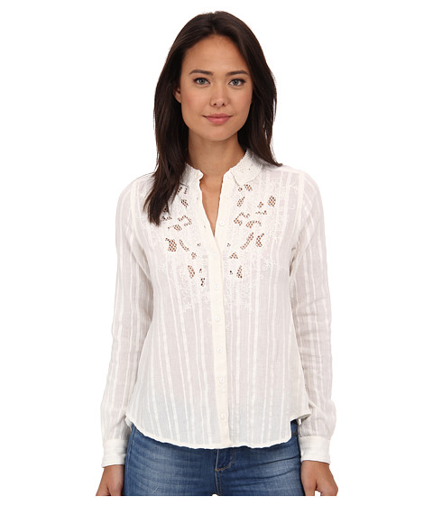 Free People - The Carter Top (Ivory Combo) Women