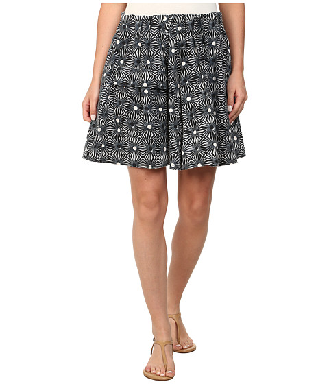 Free People - So Much Sun Skirt (Black Combo) Women