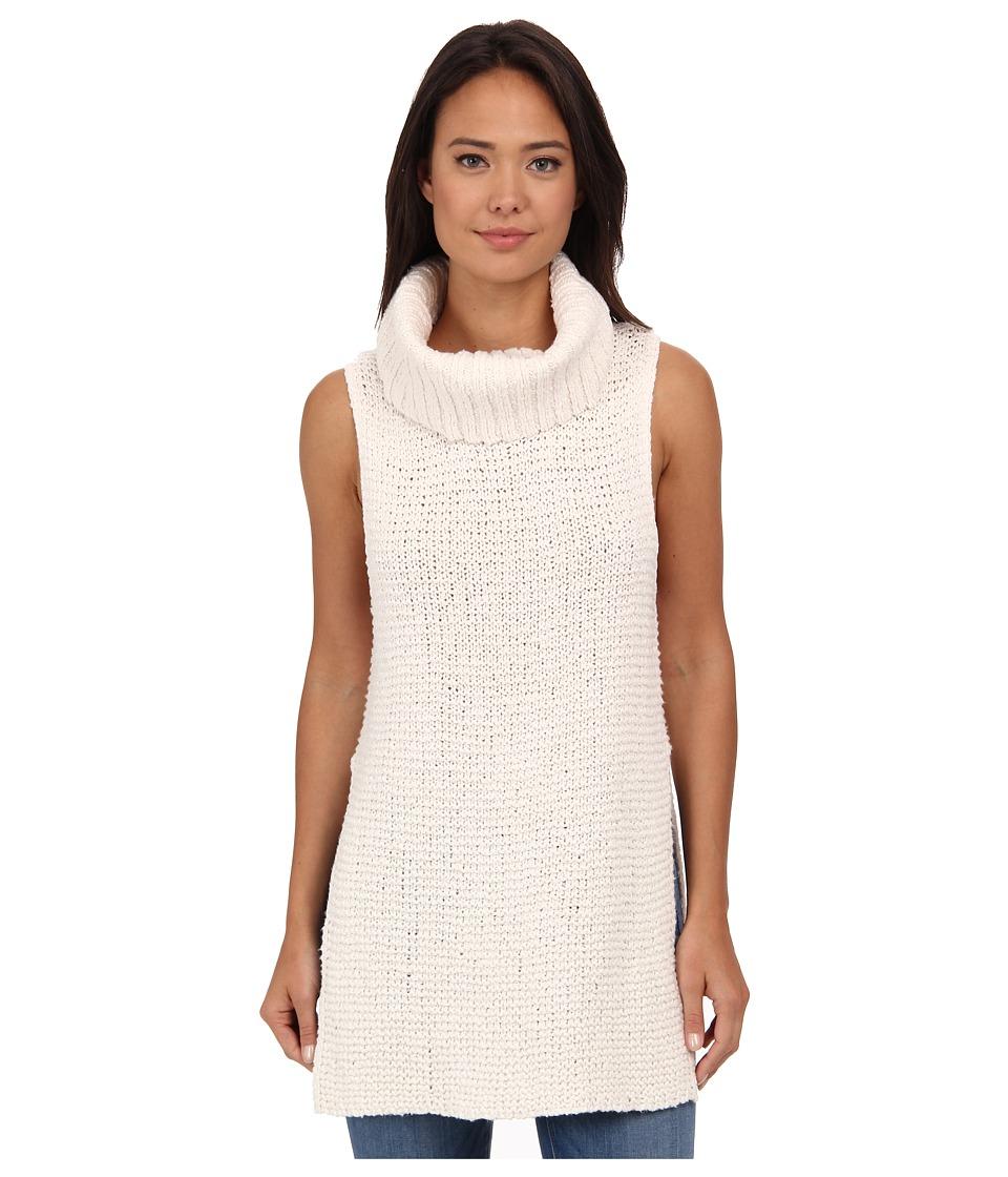 Free People - White Horses Mockneck Tunic (Ivory) Women's Sweater