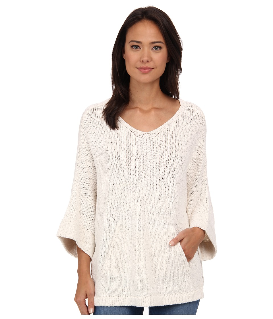 Free People - You Found Me Tunic (Ivory) Women's Sweater