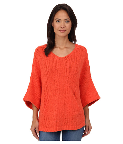 Free People - You Found Me Tunic (Punch) Women's Sweater