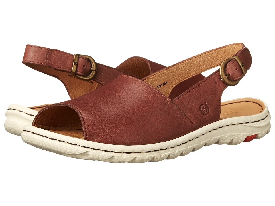 Born Ivana (Brown Full Grain Leather) Women