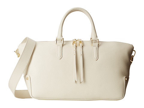 Ivanka Trump - Charlotte Satchel (Chalk) Satchel Handbags