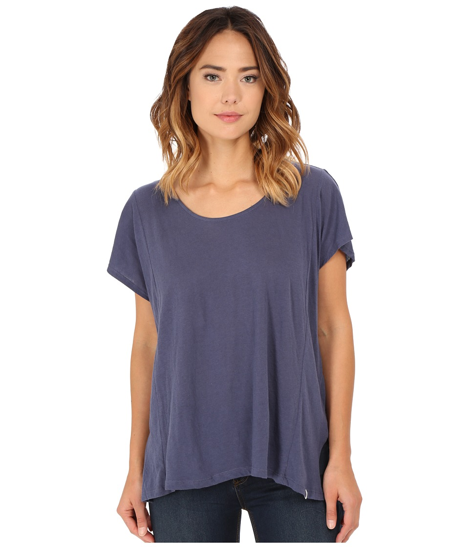 Volcom - Weekend Dream Tunic Dress (Vintage Navy) Women's T Shirt