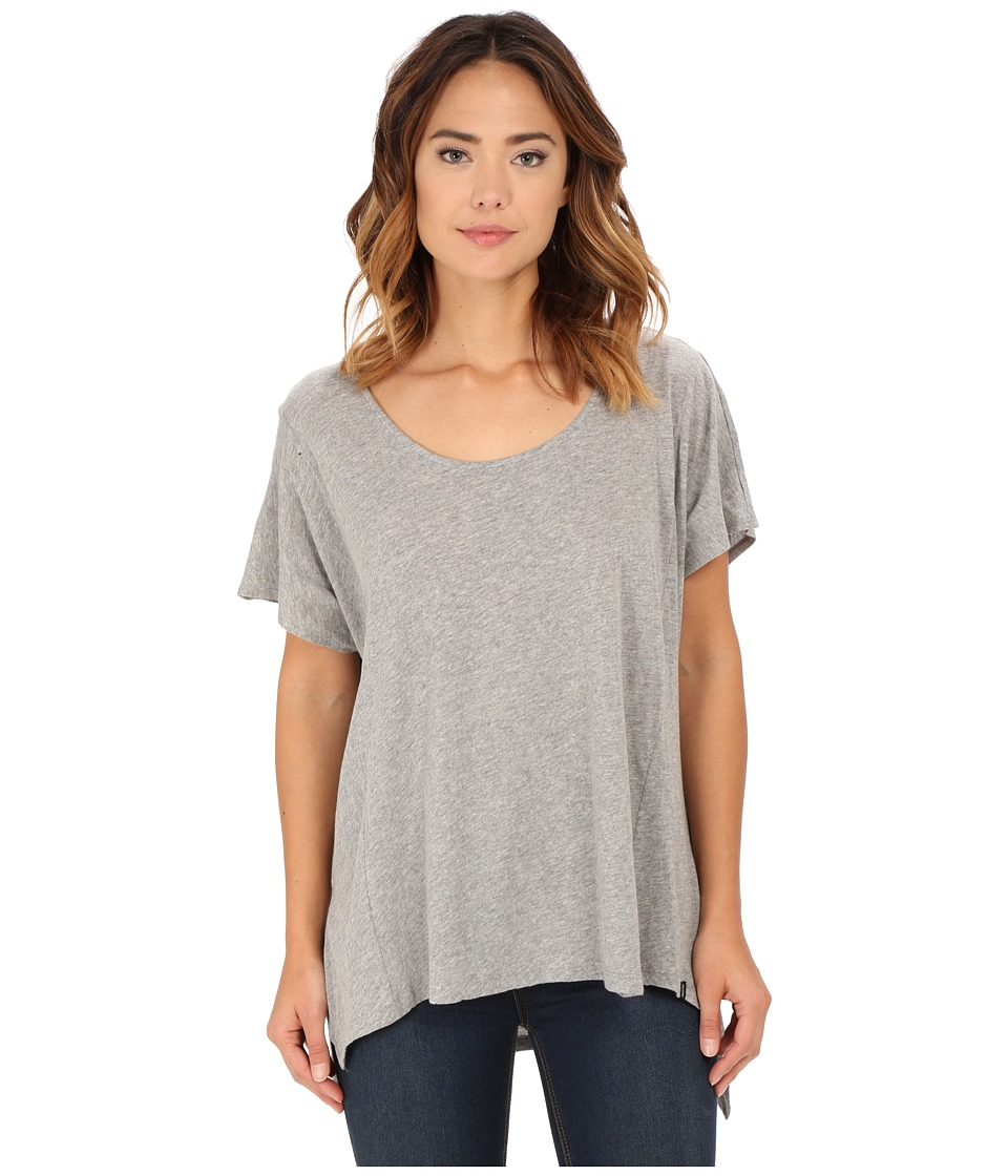 Volcom - Weekend Dream Tunic Dress (Heather Grey) Women's T Shirt