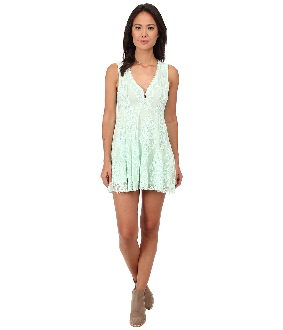 Free People - Reign Over Me Dress (Sea Green) Women's Dress