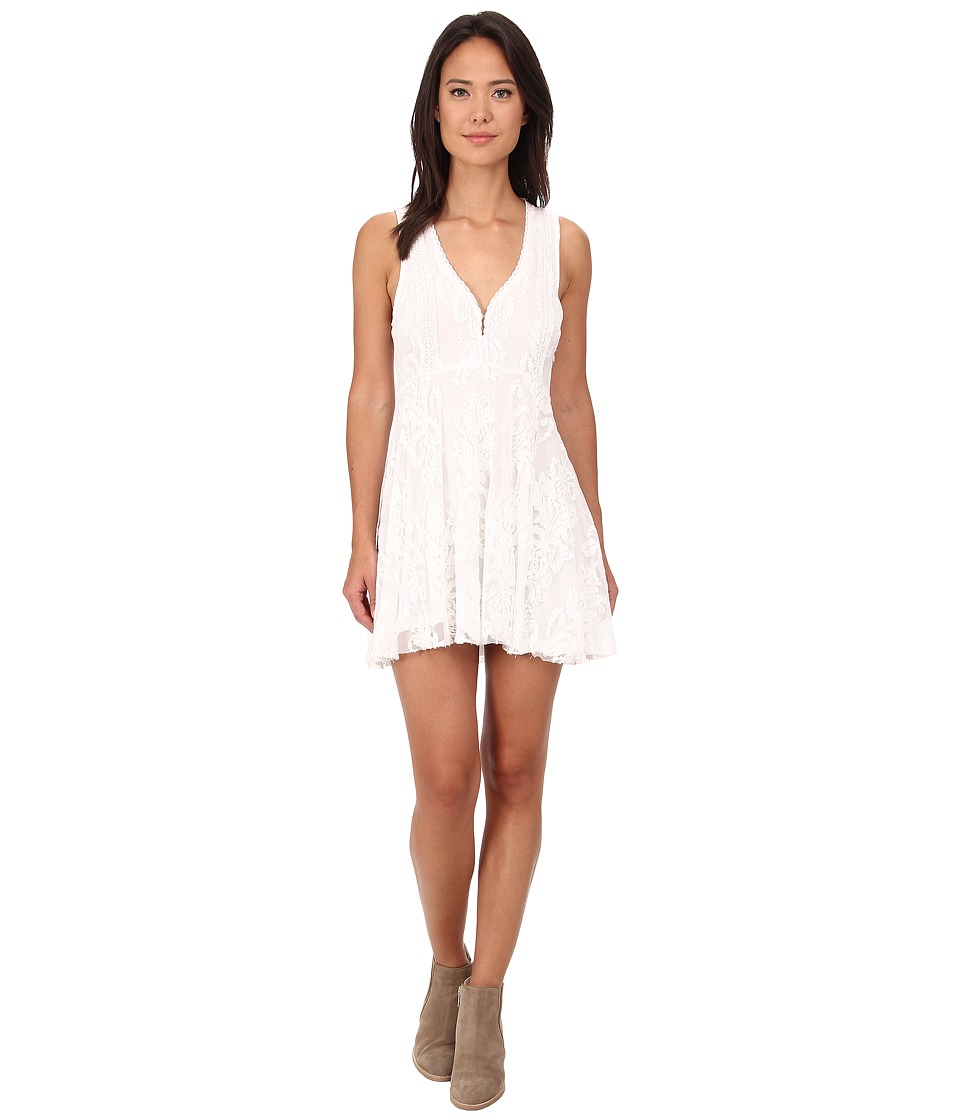 Free People - Reign Over Me Dress (Ivory) Women
