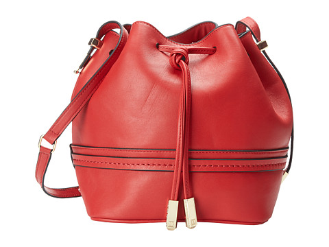 Ivanka Trump - Briarcliff Drawstring (Red) Drawstring Handbags