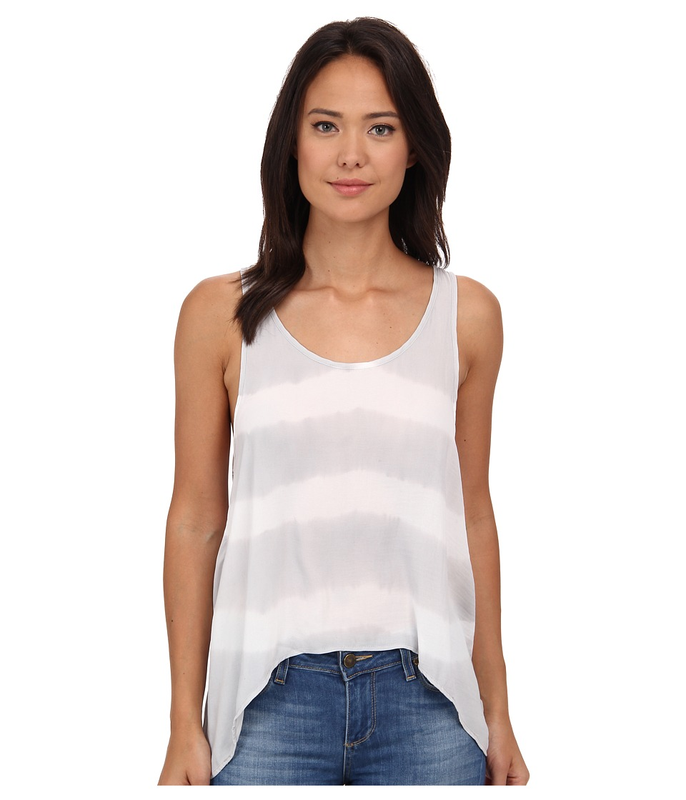 Free People - Washed Away Tank Top (Grey Combo) Women's Sleeveless