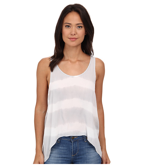 Free People - Washed Away Tank Top (Grey Combo) Women