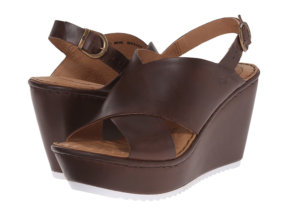 Born Emmy (Chocolate Full Grain Leather) Women